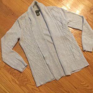Eddie Bauer Medium Open Sweater